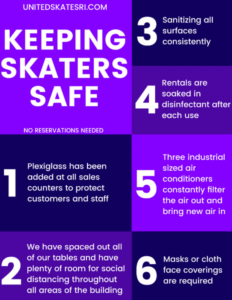 keeping skaters save during covid-19